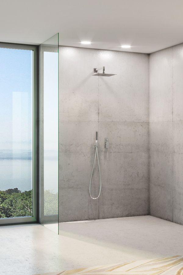 Moderne Duschplatze Erobern Unsere Badezimmer Sie Bieten Uns Ein