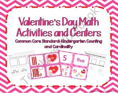 84 best Valentine\'s Day Math Activities images on Pinterest ...