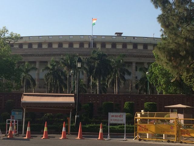Delhi Tourism: House of Parliament