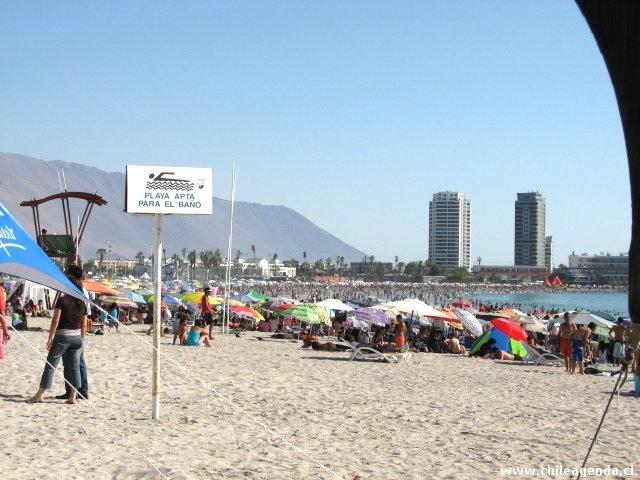 Razones para visitar una playa perfecta, si descanso y disfrute es lo que buscas. ¡Bienvenidos al corazón de Iquique!  http://www.chileagenda.cl/cavancha.htm