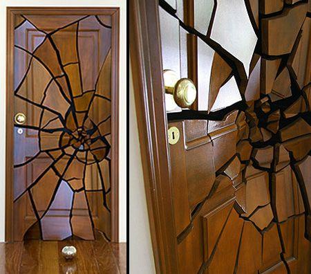 Broken door! Love this!