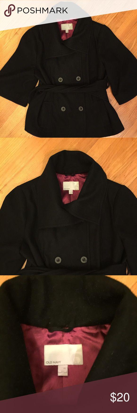 Women's Old Navy 3/4 Sleeve Pea Coat Soze XL Women's Old Navy 3/4 Sleeve Pea Coat Soze X-Large. Black Pea Coat. Old Navy Jackets & Coats Pea Coats
