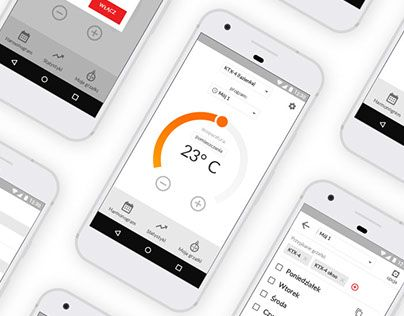 """Check out new work on my @Behance portfolio: """"Heating element control application"""" http://be.net/gallery/53924725/Heating-element-control-application #ux #ui"""