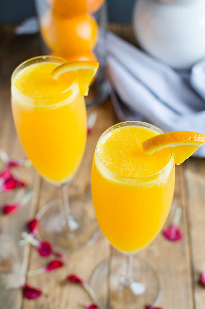 how to make non alcoholic mimosas