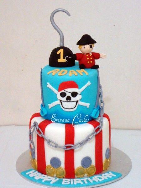 Pirate Cake - @Briana Courtright