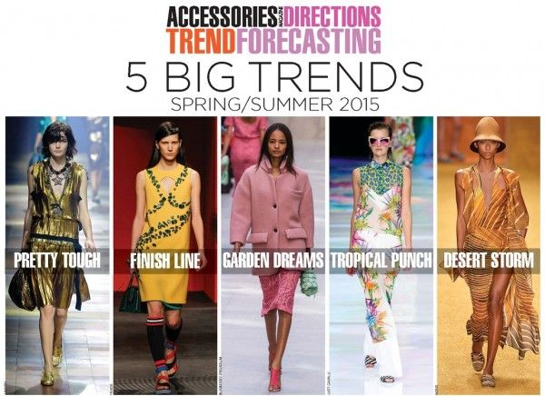 Accessories Directions Trend Forecasting: Spring/Summer 2015 Report Available. #business #fashiontrends