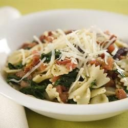 Spinach, pine nut and basil pasta salad @ allrecipes.co.uk