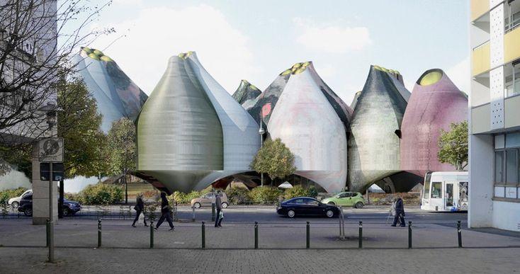 Музей Bauhaus  выбрал два победителя в конкурсе дизайна http://happymodern.ru/muzej-bauhaus-vybral-dva-pobeditelya-v-konkurse-dizajna/ new-bauhaus-museum-competition-dessau-gonzalez-hinz-zabala-young-ayata-designboom-X1-818x431