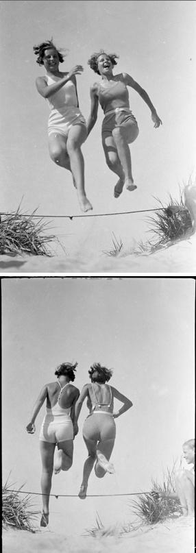 Thelma et Louise à la plage