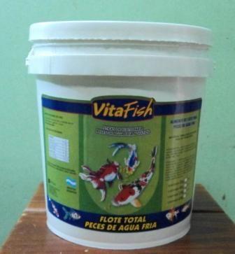 Alimento flote peces de agua fria