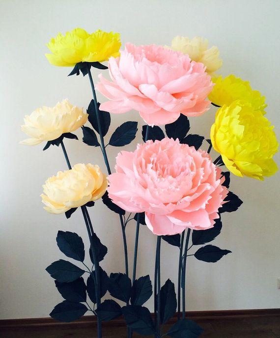 Alternative Wedding Arch Paper Flower Arch Wedding by MioPaperArt