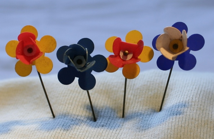 1st of May Flowers. These were sold for charity in 70's