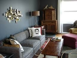 Delightful Living Room Design With Grey Leather Sofa Set And Corner Small Wooden Cabinet Ideas Gray For Modern Interior