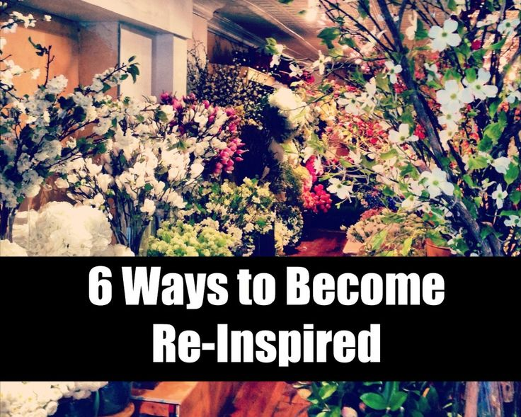 Have you ever found yourself in a rut ... this is a fabulous post!