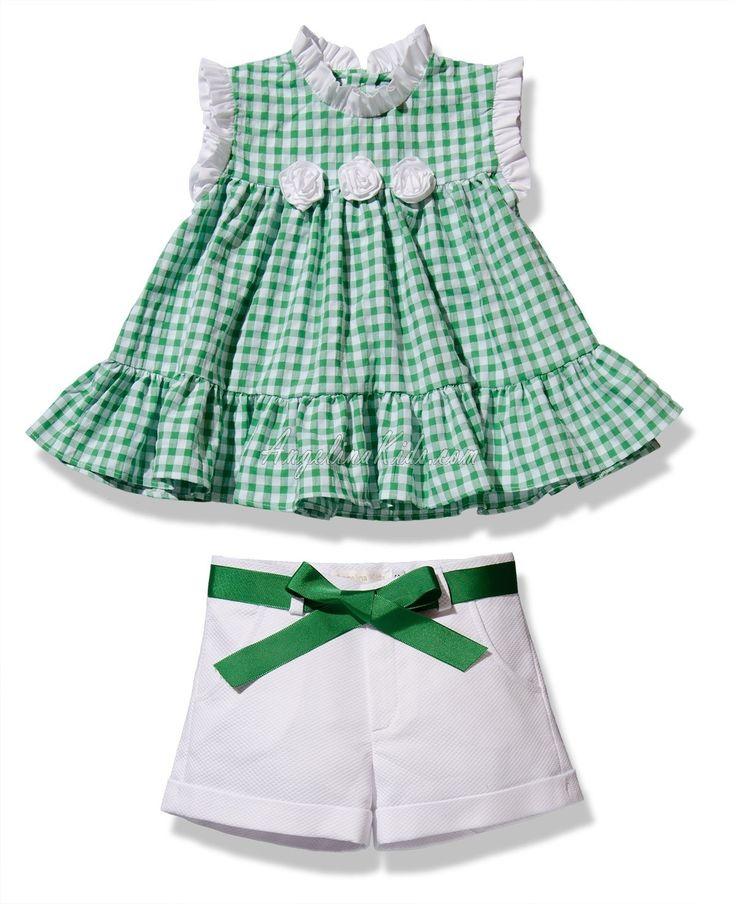 Conjunto de niña verde