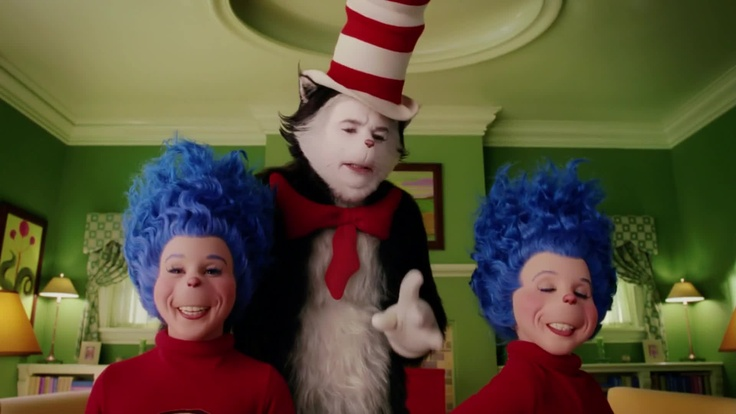 cat thing 1 and thing 2 the cat in the hat pinterest