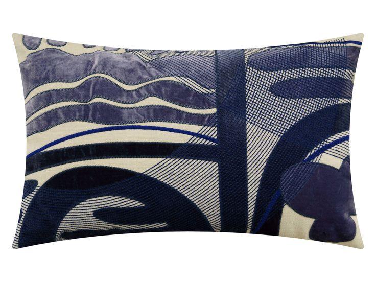 Naïve violet blue, 65x40cm