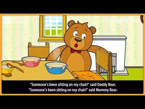 ▶ Goldilocks and the three bears - Kids Stories - LearnEnglish Kids British Council - YouTube