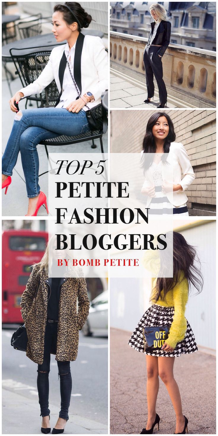 Here you have 5 top petite personal style blog(ger)s were you can find inspiration and advice.