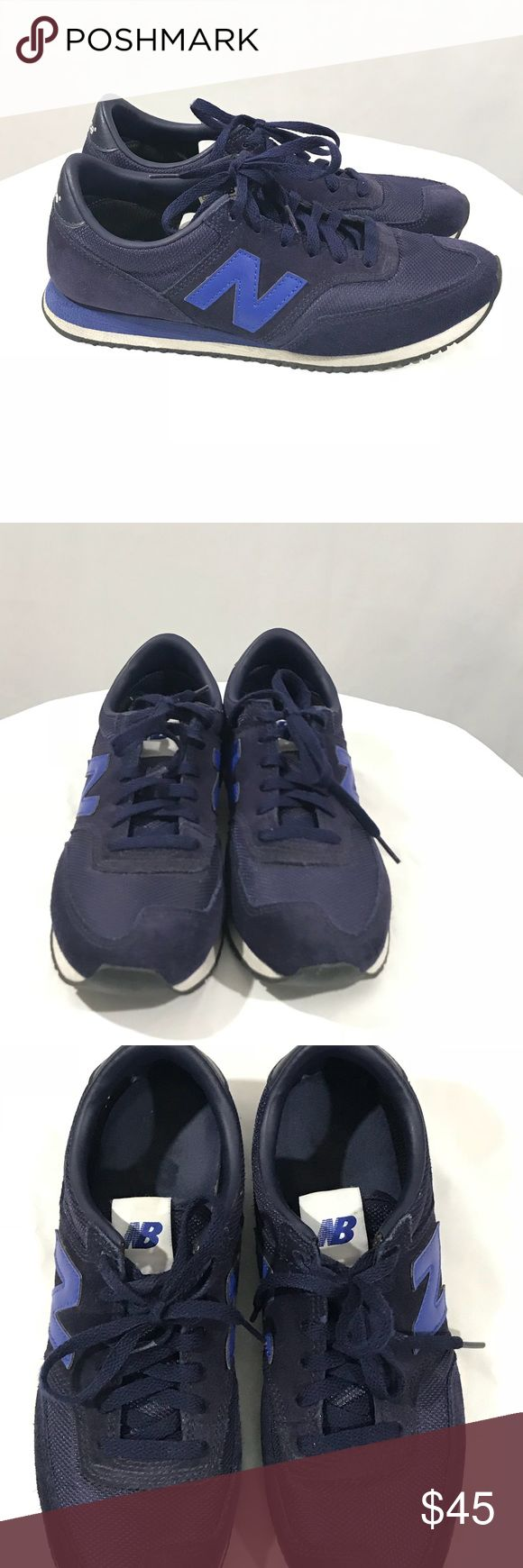 NEW BALANCE X J CREW Running Trainers Navy 8.5 NEW BALANCE Ladies X J CREW CW620JL1 Running Trainers In Navy Size 8.5 EU  Excellent condition! No significant signs of wear.   Womens US size 8.5   EU 40 UK 6.5  Navy blue New Balance Shoes Athletic Shoes