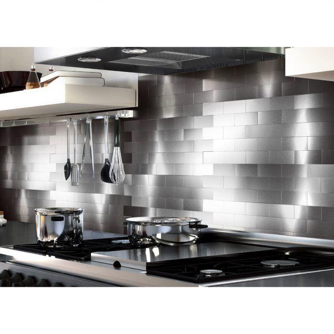 Interior Design Stainless Steel Backsplash Stainless Steel