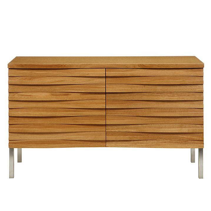 Buy Content by Terence Conran Wave Small Sideboard, Oak Online at johnlewis.com