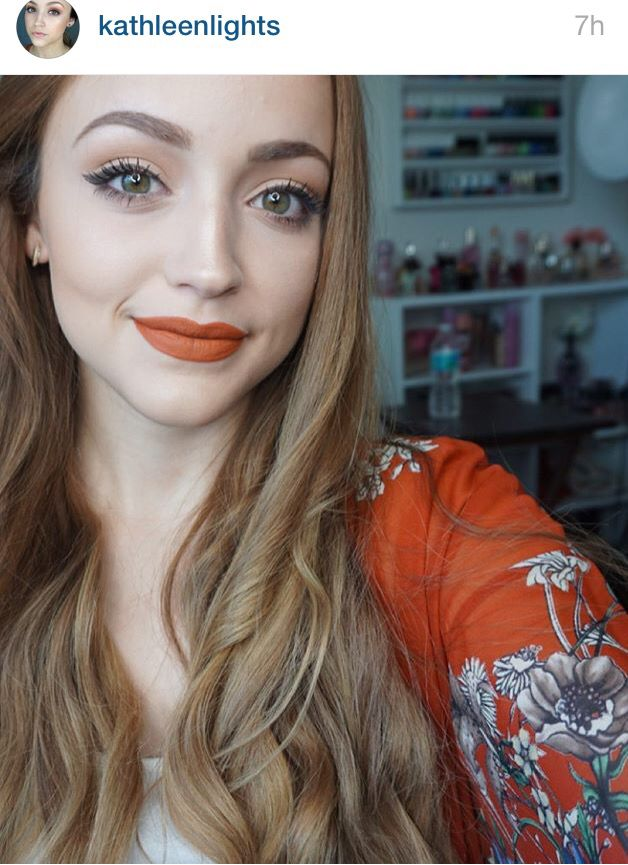 My all time favourite beauty youtuber, Kathleen Lights Miami Fever liquid lipstick by OFRA Cosmetics