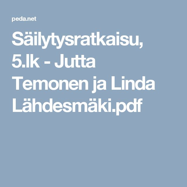 Säilytysratkaisu, 5.lk - Jutta Temonen ja Linda Lähdesmäki.pdf