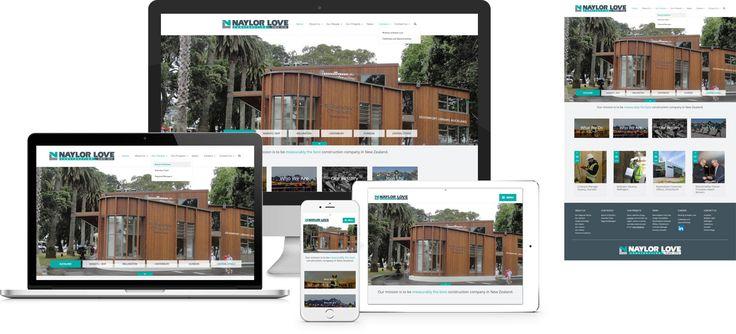 Naylor Love - website design by Forge Online