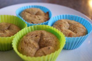 Muffins av kokosmel.