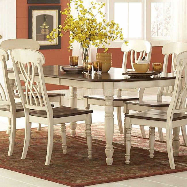 ohana dining table white  white dining room sets white