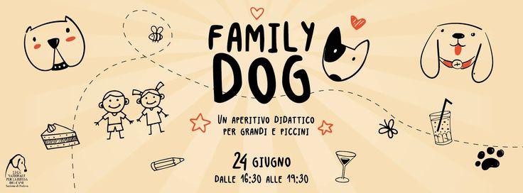 24/6 Family Dog - aperitivo didattico per grandi e piccini c/o #Rifugio di #Rubano - #LNDC #Padova