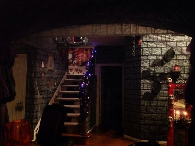 Basement Dungeon With Scene Setters Halloween Medieval