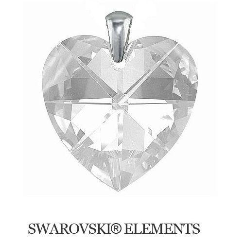 Swarovski Elements prívesok 40 mm Crystal srdce Divine Jewellery eshop