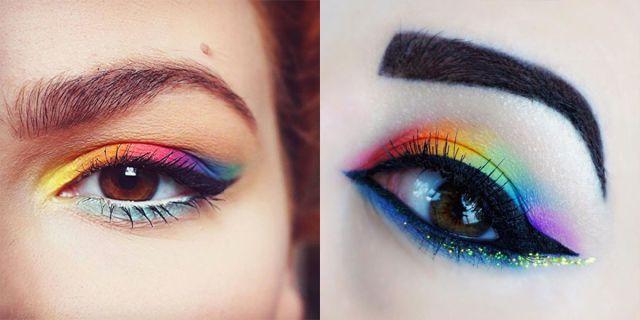 La tendenza rainbow per l'ombretto è perfetta per l'estate -cosmopolitan.it (Translation The rainbow trend for the eyeshadow is perfect for summer)