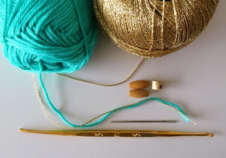 crochet friendship bracelet tutorial
