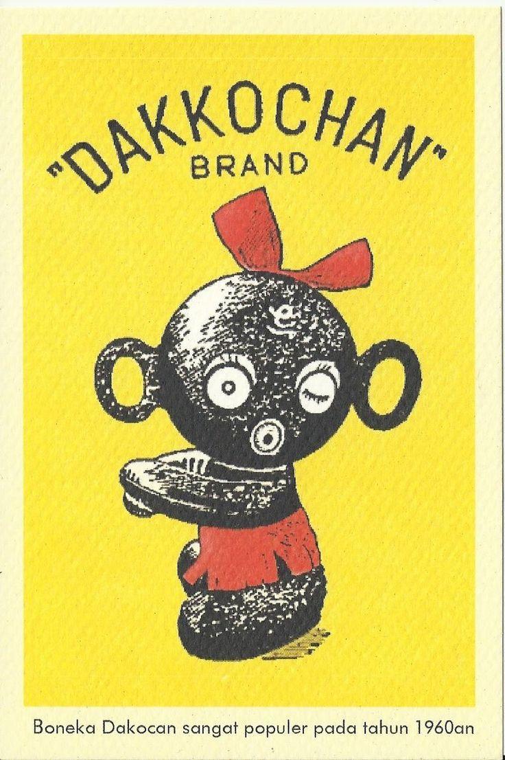 Boneka Dakocan yang sangat populer pada tahun 1960an