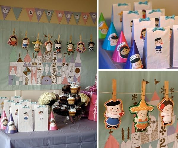 It's a Small World Party ideas