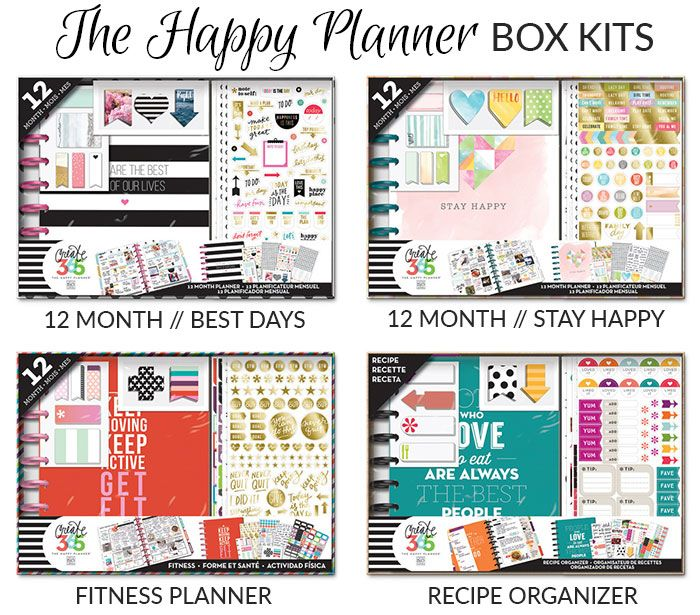 Planner Review | The Happy Planner | 2015 - 2016 - Pretty Neat Living | Happy Planner Box Kits 2015