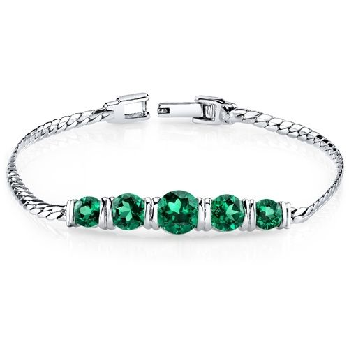3.50 Carat Emerald Bracelet. Get the lowest price on 3.50 Carat Emerald Bracelet and other fabulous designer clothing and accessories! Shop Tradesy now