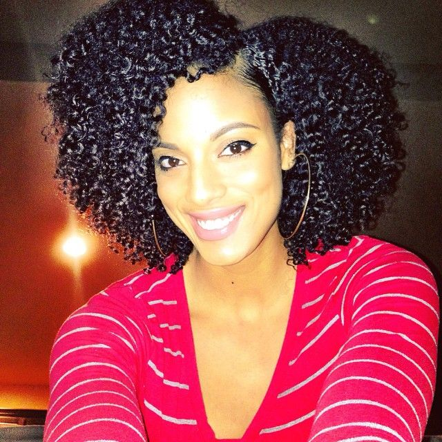 Wash And Go Hairstyles For Thick Hair Best 71 Best  Strikingly Gorgeous Naturals  Images On Pinterest