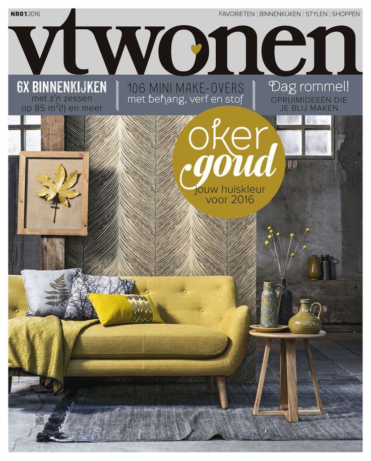 Vtwonen Magazine Cover | Nr. 01 2016