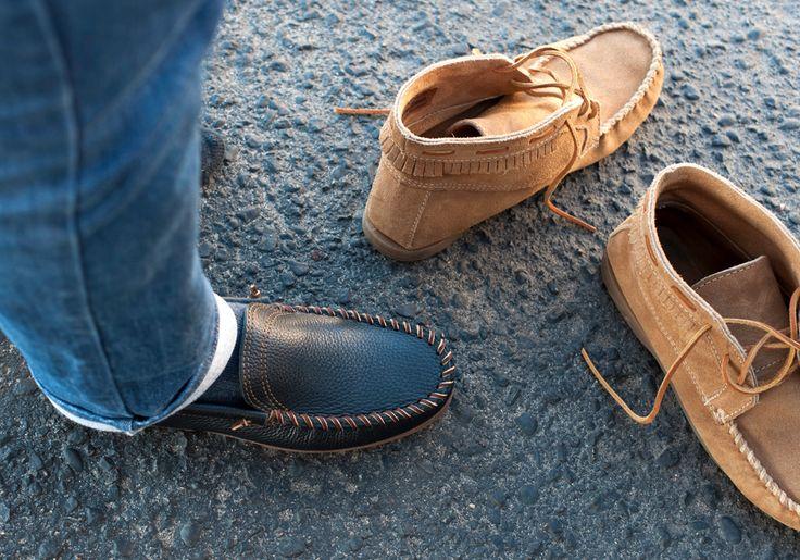 A new Minnetonka style this season, the Venetian Slip-on.