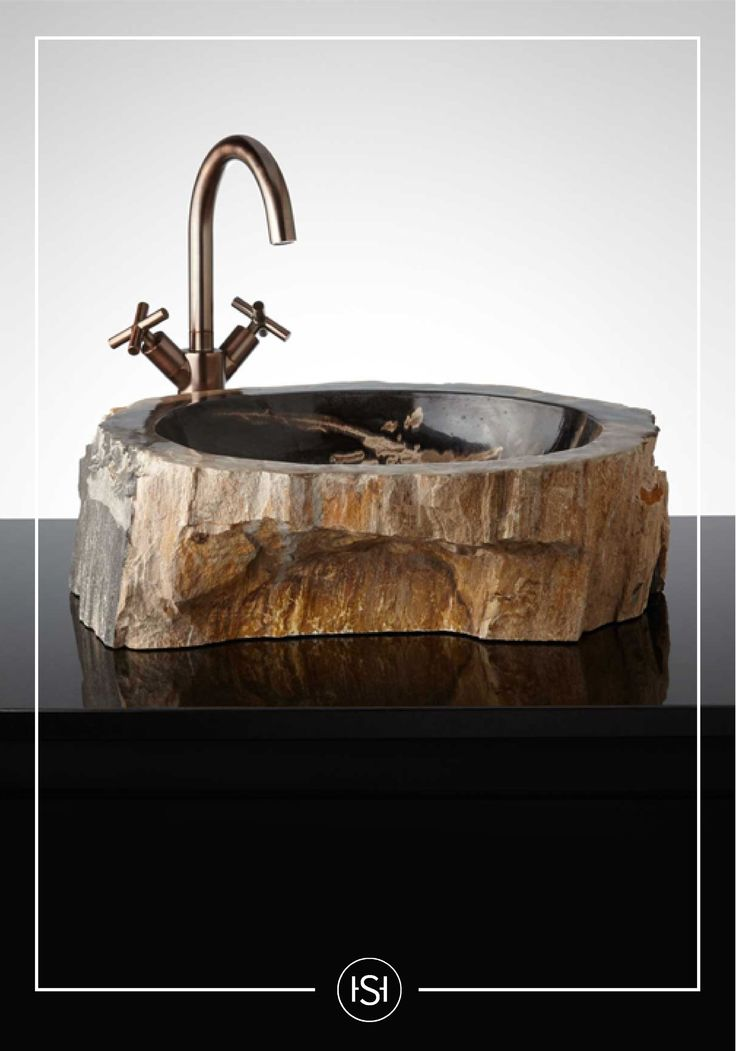 Enhance The Beauty Of Your Bathroom With The Sagittarii Petrified Wood  Vessel Sink. Variations Of