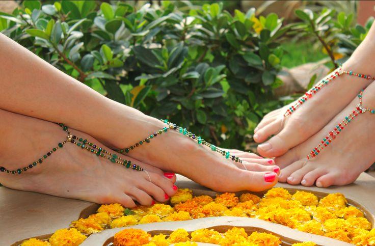 Step into summer in Barefoot Slinks - http://bit.ly/1i9jdrK