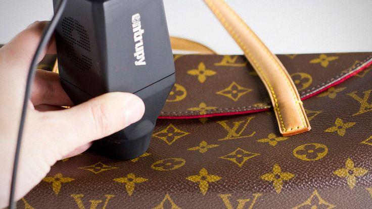Entrupy Counterfeit Bag Detector.