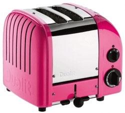 Dualit Brödrost Classic 2-skivor Chili Pink