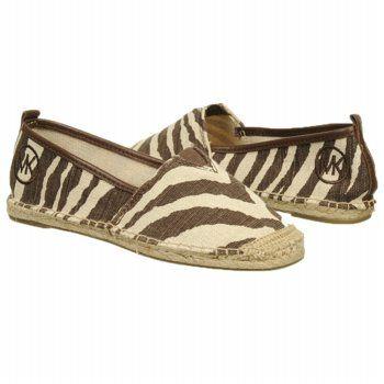 Women's MICHAEL MICHAEL KORS Meg Slip On Brown/White Tiger Shoes.com