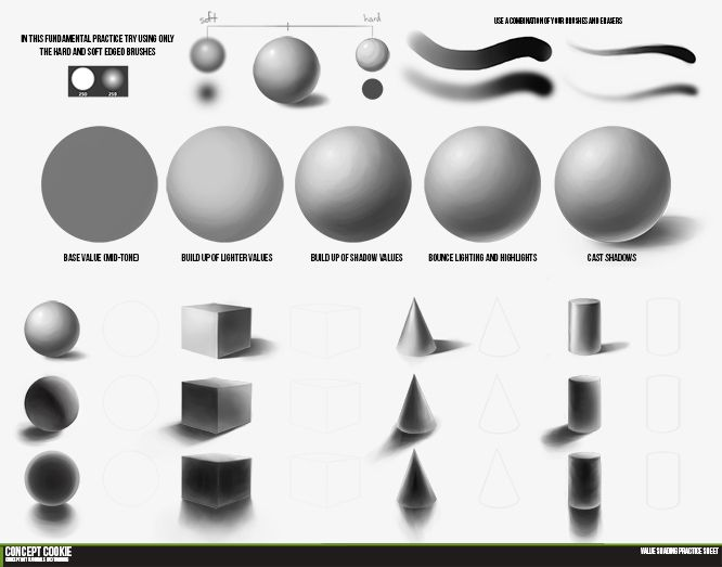 Welcome to this Fundamental tutorial covering value shading. In this tutorial, Tim Von Rueden takes you through shading the four basic objects: sphere, box, cone, and cylinder.