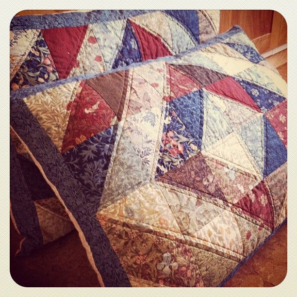 William Morris Pillow Shams | Flickr - Photo Sharing!